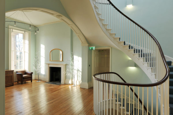 Interior photography of Clissold House renovation