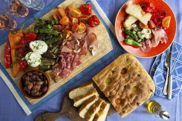 Italian Antipasti Platter