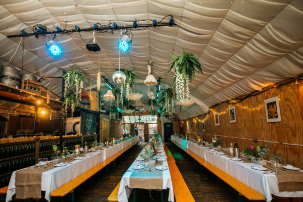 London Fields Brewery Wedding Photography