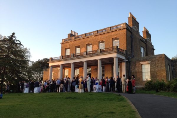clissold house wedding caterer