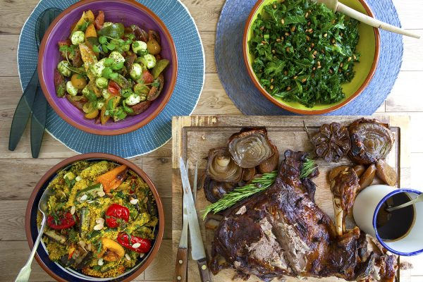 London caterer sharing plate
